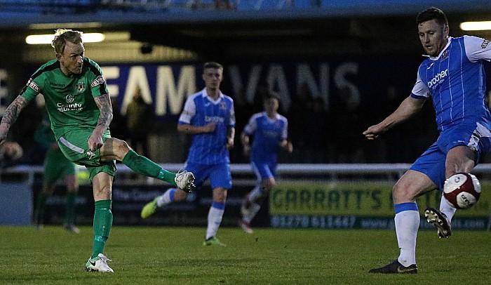 First Nantwich goal - Steve Jones tucks it home