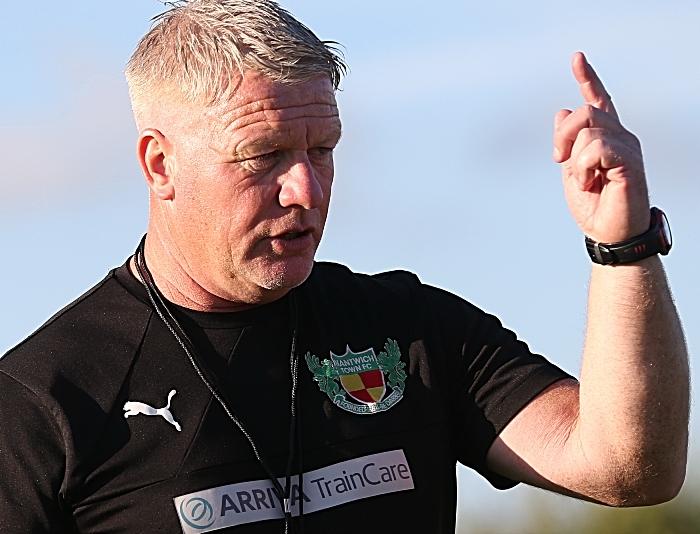 First Team Coach Jay Bateman gives instructions (1)