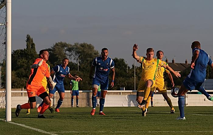 First-half - 0-1- Salford City goal from Lois Maynard (1)