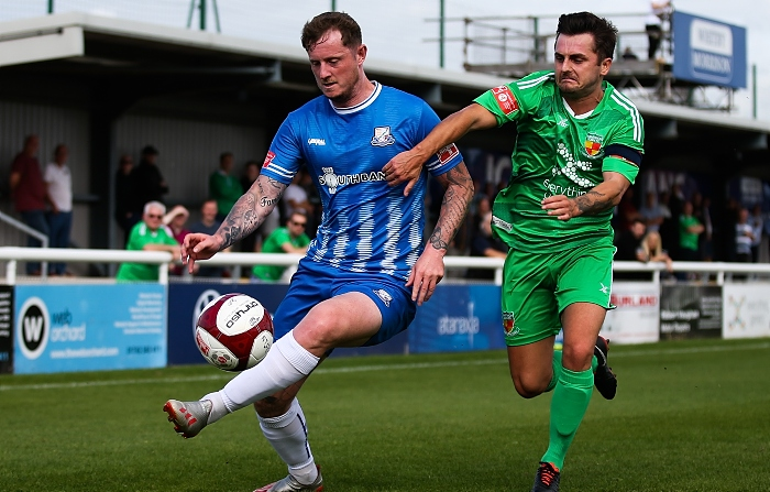 First-half - Dabbers captain Caspar Hughes fights for the ball (2) (1)
