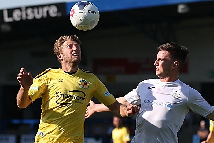 First-half - James Lawrie eyes the ball (1)