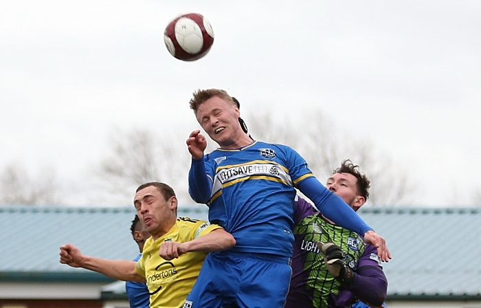 First-half - Joel Stair fights for the ball (2) (1)