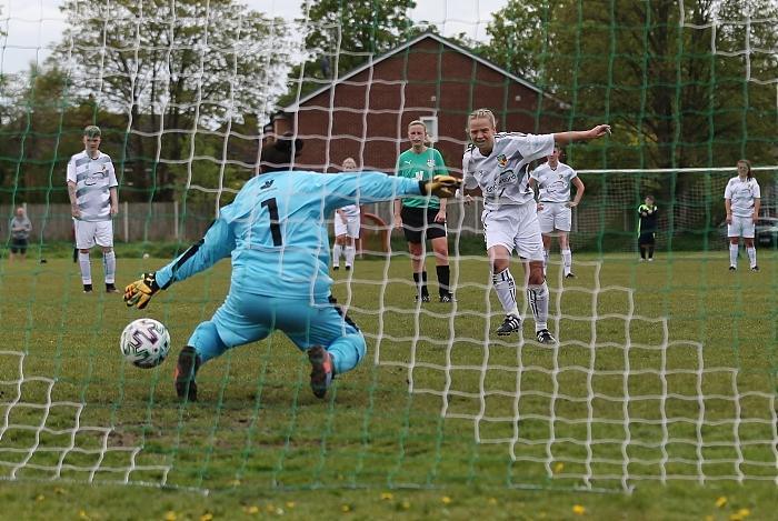 First-half - Kirsty Fisher-Sherratt scores en route to her hat-trick (1)