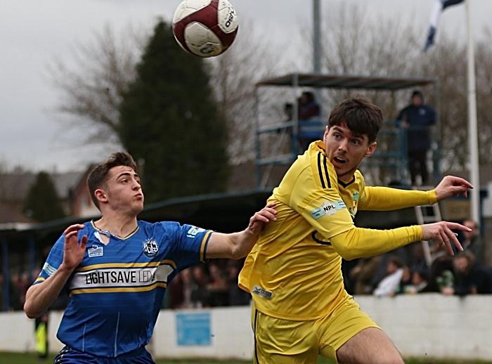 First-half - Matty Devine eyes the ball (2) (1)