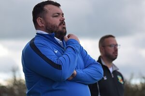 First-half - Nantwich Town Ladies FC Manager Chris Broad (1)