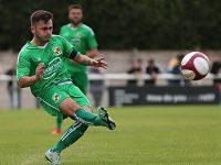 Nantwich Town captain Caspar Hughes