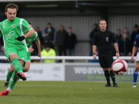 Nantwich Town unbeaten run ended by Matlock Town