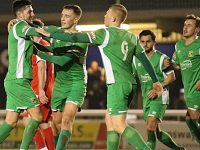 Nantwich Town keep promotion hopes alive with 2-0 win over Bamber Bridge