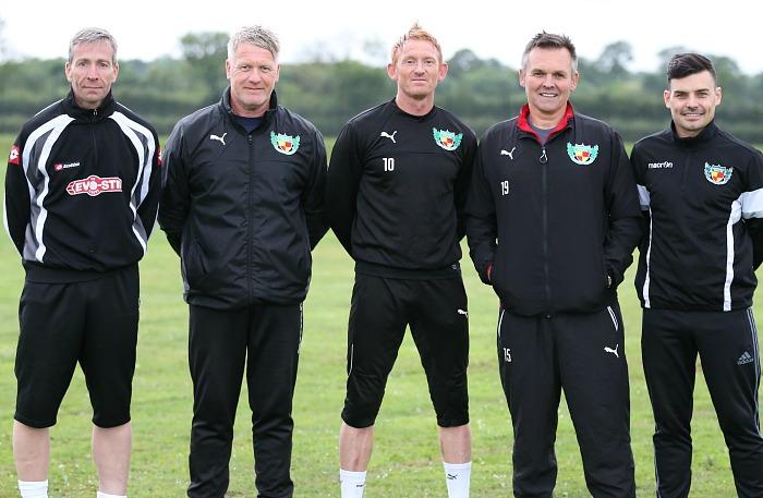training - First team - management team