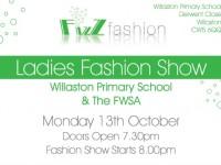 Willaston Primary School Fizz Fashion Show cancelled
