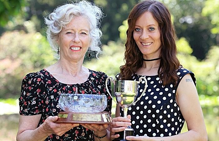 Floristry award winners Ann-Marie Owen & Sara Coleman (1)