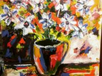 """Local artist's """"A Life in Colour"""" exhibition opens at Nantwich Museum"""