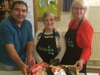 Nantwich Film Club supporters help out town Food Bank