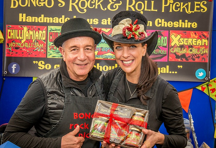 Food Festival - Manny and Debs Elias from Bongo's Rock & Roll Chilli Pickles company