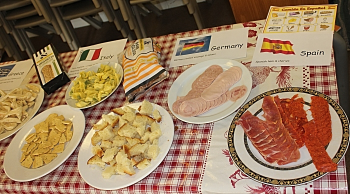 Food from around the globe was tasted (1)