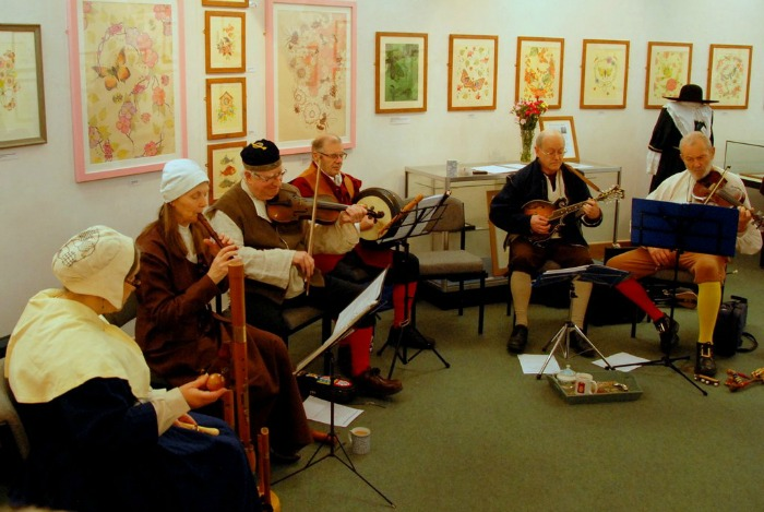 Forlorne Hope play at Nantwich Museum