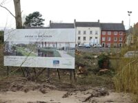 "Work starts on major ""Cultural Quarter"" riverside development in Nantwich"