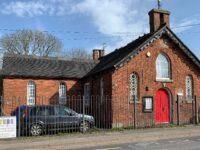 Former village school building at Buerton near Nantwich for sale