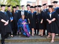Dame Tanni Grey-Thompson praises Reaseheath College graduates
