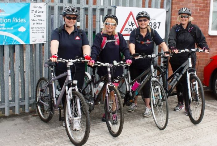 Foundation Rides - Ladies of Up and Under