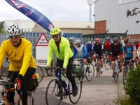 150 cycle their way to £5,000 for Foundation Rides charity