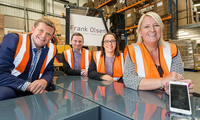 Frank Olsen Furniture firm Northern Powerhouse fund