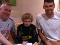 Eight-year-old goalkeeper from Nantwich signs for Liverpool