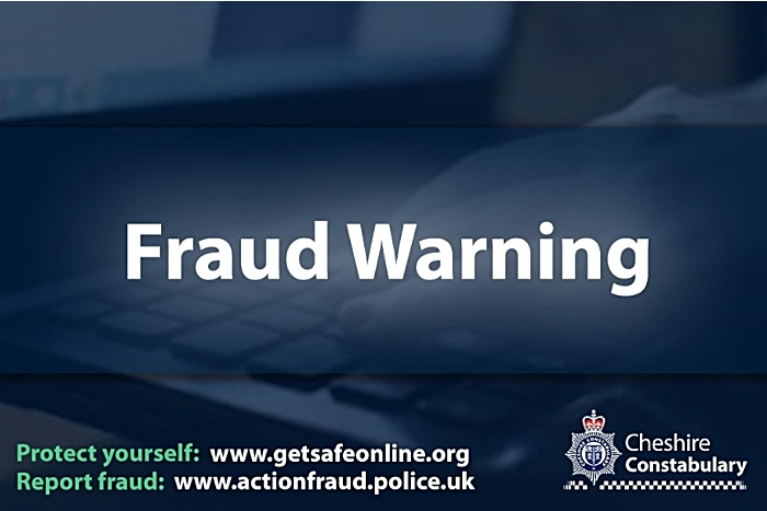 Fraud warning by Cheshire Police