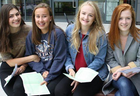Brine Leas School staff 'proud' of headline GCSE grades