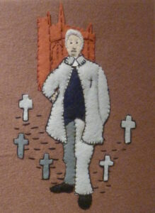 anniversary - From the History Tapestry Andrew Fuller Chater who led the town through the 1849 Cholera epidemic