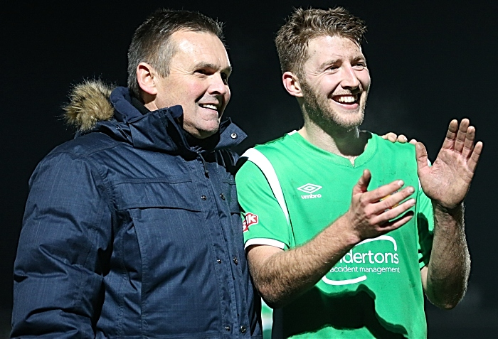 Full-time - Dabbers players and management thank fans (1)