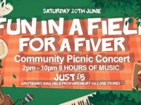 "Wrenbury to stage community ""Fun in a Field"" concert"