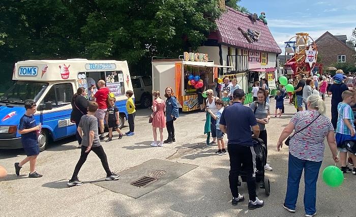 village festival - Funfair and ice cream van (1)