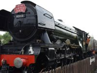 Famous Flying Scotsman pulls in the crowds at Crewe Heritage Centre