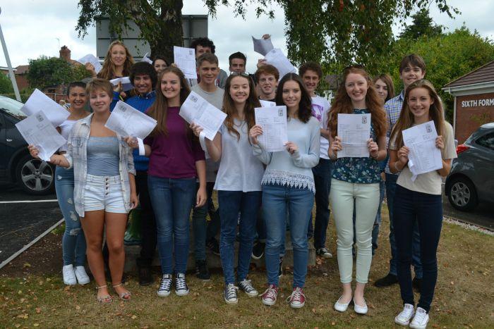GCSE Group shot Tarporley students