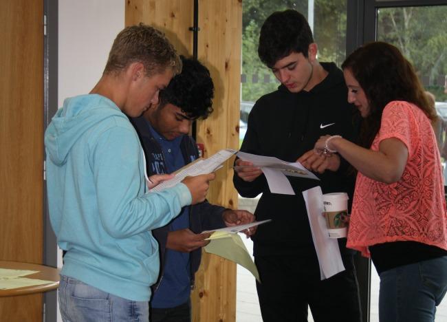 GCSE results at Brine Leas