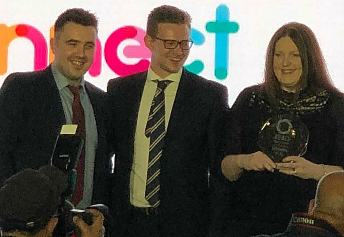 GESS1 - Connect wins award
