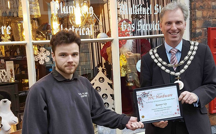 GFC hardware best dressed window competition