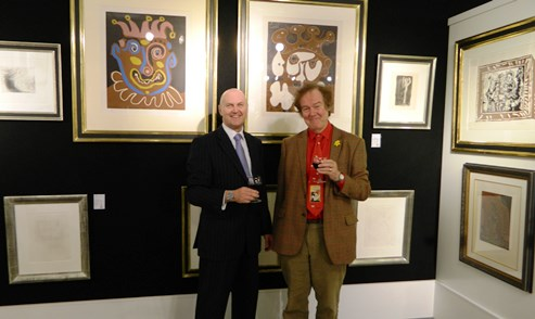 Fine art show in Nantwich features Picasso, Renoir and Dali works