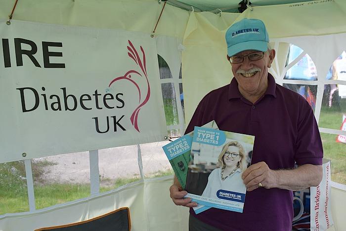 Garden Party for Diabetes UK – Wistaston – Wed 13-7-16