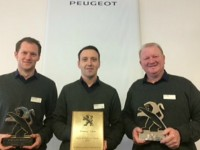 South Cheshire car dealer secures sales team hat-trick