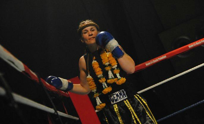 Gemma Coast thai kick boxer