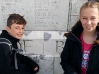 Brine Leas pupils tell story of visit to World War One Battlefields