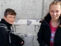 Brine Leas pupils tell story of visit to World War One Battlefields