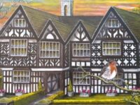 Talented artist, 89, produces paintings of local buildings and wildlife