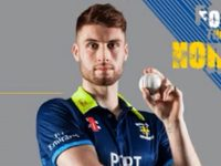 Former Crewe Vagrants junior cricketer Harding re-signs