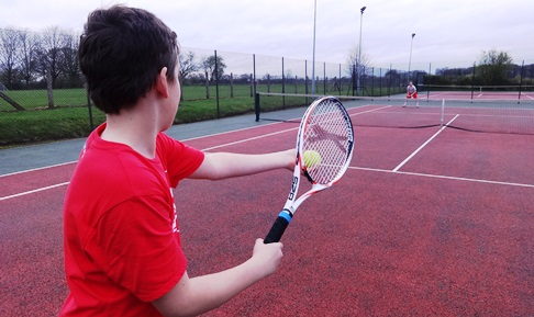 "Wistaston teenager raises £187 for Sport Relief in 12-hour ""tennis-athon"""