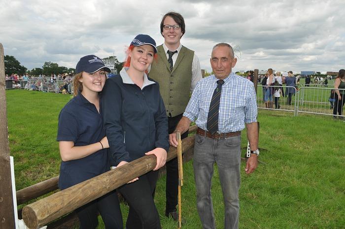 Royal Cheshire - Georgia Clare, Shannon Sutton, Alex Hutson, course builder Barry Coton