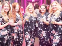 Gin and Pyjamas event in Wrenbury in aid of St Luke's Hospice