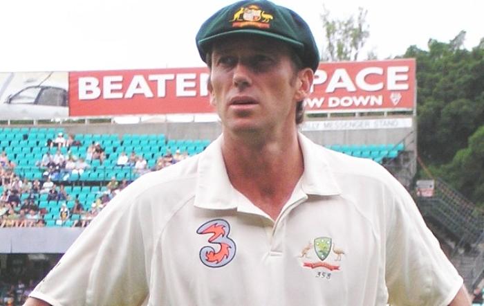 Glenn McGrath Aussie bowler